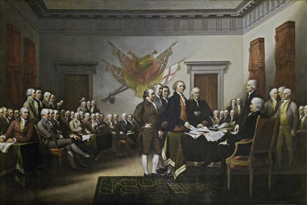 Declaration of Independence image provided by Architect of the Capitol