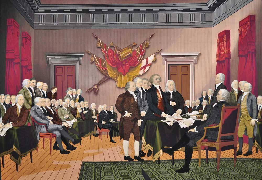 Declaration of Independence - The Quilt