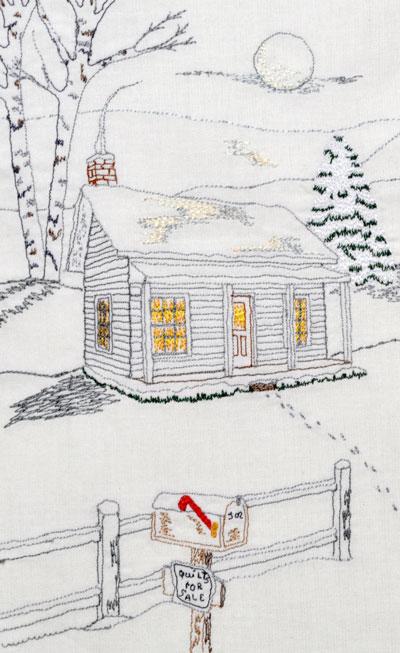 Thread Sketching Award Winning Quilter Nancy Prince